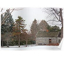 Kammer Cabin in Winter Poster