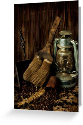 Dustpan & Broom by Samantha Cole-Surjan