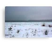 Winter on Lake Huron Canvas Print