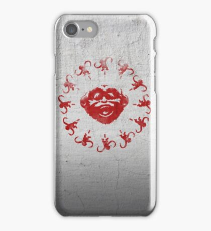 Barrel of 12 Monkeys (Red Paint) iPhone Case/Skin