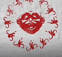 Barrel of 12 Monkeys (Red Paint) by DJKopet