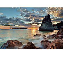 Te Hoho Amber Dawn Photographic Print