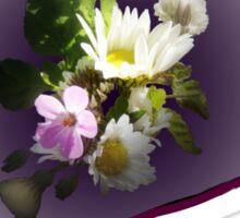wildflower, Best Mum EVER! heart quirky Sticker