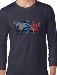 Red Fury Long Sleeve T-Shirt
