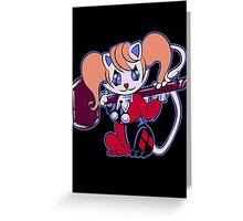 Neko Harley Greeting Card