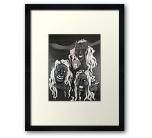 witches of macbeth Framed Print