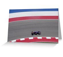 Red Bull F1 - Austin Grand Prix Greeting Card