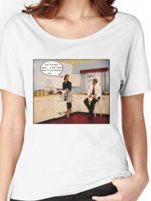 Kitchen Talk Women's Relaxed Fit T-Shirt