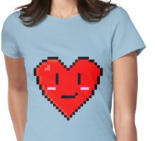 Retro Valentines Womens Fitted T-Shirt