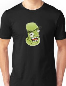 Mad Monster Man with Evil Expression Unisex T-Shirt