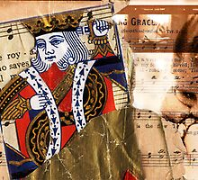 King of Hearts--Self Sacrifice by sadeyedartist