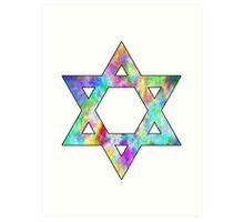 Jewish Star of David Art Print
