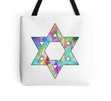Jewish Star of David Tote Bag