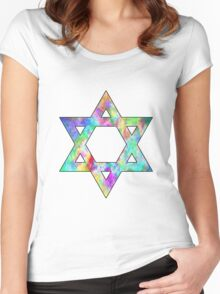 Jewish Star of David Women's Fitted Scoop T-Shirt