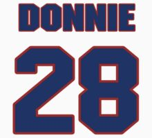 National football player Donnie Elder jersey 28 by imsport
