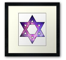 Jewish Star of David  Framed Print