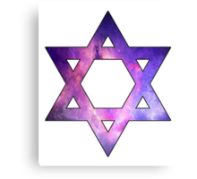Jewish Star of David  Canvas Print