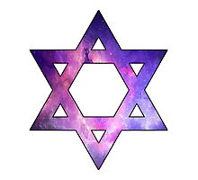 Jewish Star of David  Photographic Print