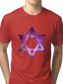 Jewish Star of David  Tri-blend T-Shirt