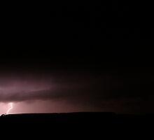 Lightning at Strathdownie by Biggzie