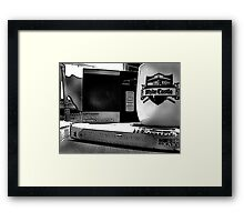 Nostalgic Cuppa Framed Print