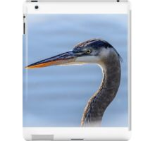 Great Blue Heron Portrait iPad Case/Skin