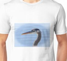 Great Blue Heron Portrait Unisex T-Shirt
