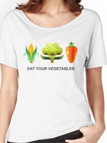 Eat Your Vegetables Women's Relaxed Fit T-Shirt