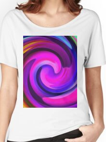 Colour Me A Rainbow 2-Art Prints-Mugs,Cases,Duvets,T Shirts,Stickers,etc Women's Relaxed Fit T-Shirt