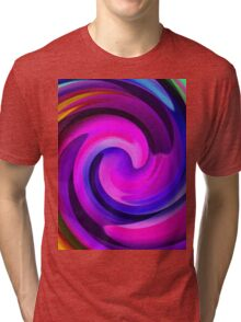 Colour Me A Rainbow 2-Art Prints-Mugs,Cases,Duvets,T Shirts,Stickers,etc Tri-blend T-Shirt