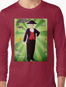 "Boy ""George Wahington"" Long Sleeve T-Shirt"