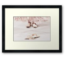 The dancer Framed Print
