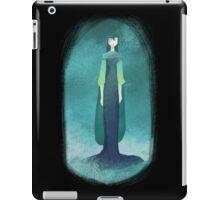 Blue Mist Lady iPad Case/Skin