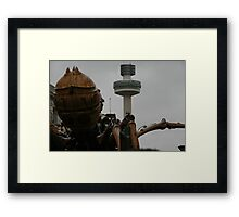 Girl About Town Framed Print
