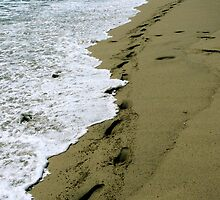 #502 Footprints In The Sand by MyInnereyeMike