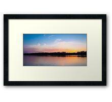 Jacomo Dusk Framed Print
