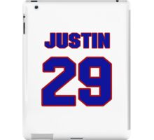 National football player Justin Forsett jersey 29 iPad Case/Skin