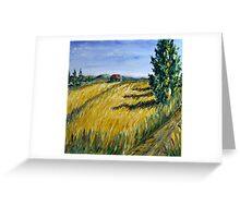 Corn Field I Greeting Card