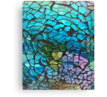Colored Glass Pattern Canvas Print