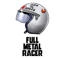 Full Metal Racer Photographic Print