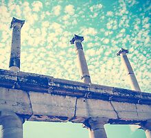 Columns in the Sky by Shirley Ko