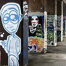 Graffiti Street by Paul McGuire