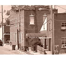 Small Town Life Photographic Print