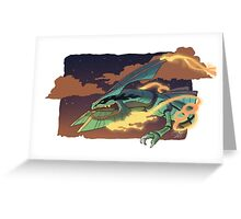 Mega Rayquaza Greeting Card