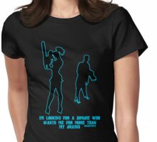 More Than Brains Womens Fitted T-Shirt