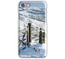 The Great Ridge Peak District iPhone Case/Skin