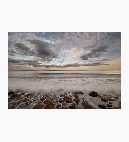 stone beach impressions Photographic Print