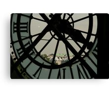 Clockwork 2  Canvas Print