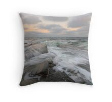 (e)motional sea Throw Pillow