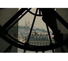 Clockwork over city 2  Photographic Print